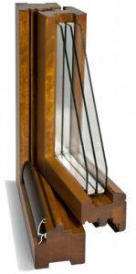 finestre in legno danese